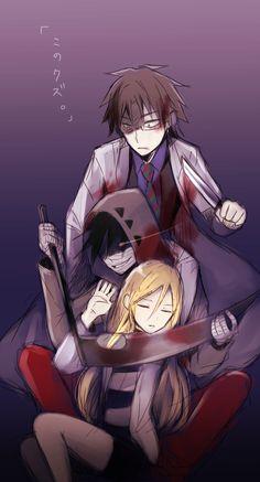 君が笑うまで Angel of Slaughter Fanart Ray, Zack and Danny