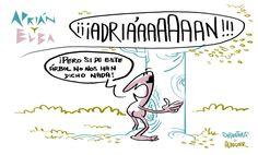 Adrián y Elba #14 (Más de Adrián y Elba en adrianyelba.com #webcomic #comic)