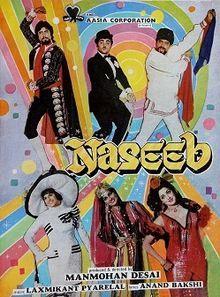 Naseeb Hindi Movie Online - Amitabh Bachchan, Hema Malini and Shatrughan Sinha. Directed by Manmohan Desai. Music by Laxmikant-Pyarelal. 1981 ENGLISH SUBTITLE
