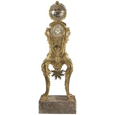 Important Astronomical Regulator Clock Attributed to François Linke   From a unique collection of antique and modern clocks at https://www.1stdibs.com/furniture/decorative-objects/clocks/