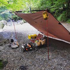 いいね!165件、コメント4件 ― kunyataさん(@kurataken123)のInstagramアカウント: 「充電完了! #ddタープ #道志の森 #ソロキャンプ」