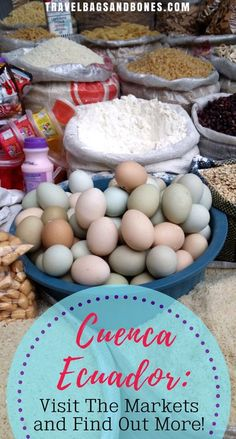 Cuenca Ecuador: Visit The Markets and Find Out More! Cuenca Ecuador, Backpacking South America, South America Travel, All You Need Is, Visit Colombia, South America Destinations, Equador, Brazil Travel, Enjoy Your Vacation