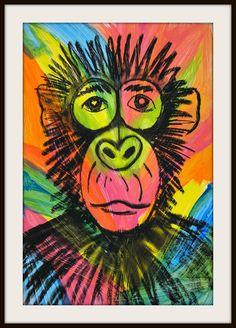 MaryMaking: Pop Art Chimps