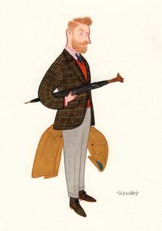 Illustration by Mr. Slowboy aka Fei Wang