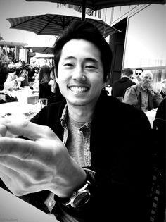 Steven Yeun a.k.a Glenn Rhee -my favorite zombie slayer