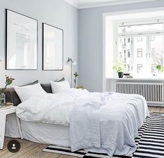 Total White Bedroom.