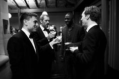 GQ Men of the Year Awards 2011 Hugh Laurie, Idris Alba, Benedict Cumberbatch -how can you have so many great men in one picture? Idris Alba, Hugh Laurie, Zoolander, Gq Men, Image Icon, Well Dressed Men, Nice To Meet, Benedict Cumberbatch, Future Husband