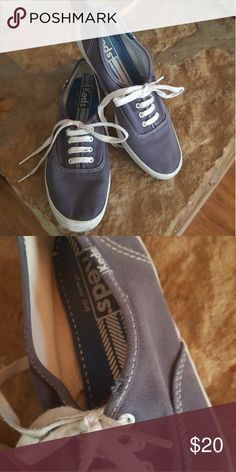 Vintage Canvas Keds Vintage blue canvas Keds size 8. Good used condition with some visible wear. Keds Shoes