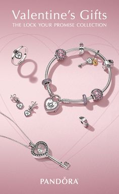 Intricate padlocks represent a promise of love, while the key symbolizes the key to her heart. Discover must-have gifts to give and to get in PANDORA's NEW Valentine's Day Collection.