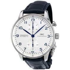 IWC Portuguese Chronograph Automatic White Dial Men's Watch IW371446 - Portuguese - IWC - Watches - Jomashop