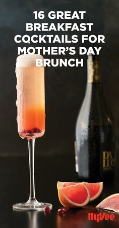 Cheers to you, mom! Check out our top picks for Mother's Day brunch cocktails.