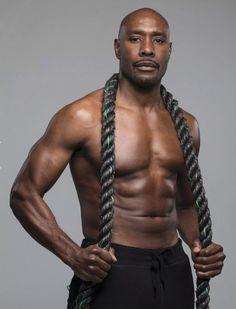 Morris Chestnut and Obi Obadike cover Muscle & Performance Gorgeous Black Men, Handsome Black Men, Beautiful Men, Handsome Man, Hot Black Guys, Black Man, Morris Chestnut, Black Actors, Bald Men