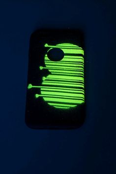 Glow In The Dark Phone Case iPhone Case by UptownGirlFashion