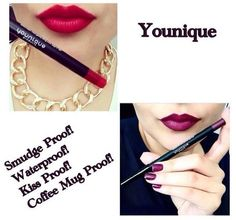 These lip liners are Primal and Pompous. Line your lips then colour in! Creates These lip liners are Primal and Pompous. Line your lips then colour in! Creates These lip liners are Primal an Homemade Lip Balm, Diy Lip Balm, Magical Makeup, Kiss Proof, Younique Presenter, Unique Makeup, Dry Lips, Your Lips, Organic Beauty