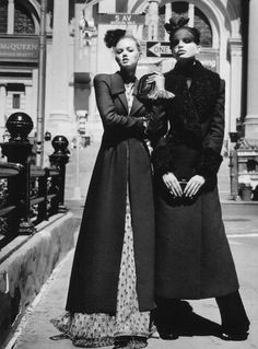 Lindsey Wixson and Daphne Groeneveld by Alasdair McLellan for W Magazine, August 2011