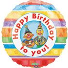 Bert Ernie Sesame Street Birthday Balloon