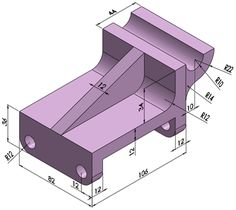 You can generate drawings in SolidWorks the same way you would generate them in drafting and drawing systems. However, creating models and generating drawings from the model have many advantages; for example: Designing models Mechanical Engineering Design, Mechanical Art, Mechanical Design, Autocad Isometric Drawing, Isometric Drawing Exercises, Learn Autocad, Solidworks Tutorial, Interesting Drawings, Drawing Projects