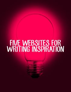 I Believe in Story | 5 Websites for Writing Inspiration. I'd never heard of Airbnb until now.