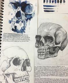 A Level Art Sketchbook, Sketchbook Layout, Arte Sketchbook, Sketchbook Tumblr, Art Sketches, Art Drawings, Art Alevel, Art Folder, Anatomy Art