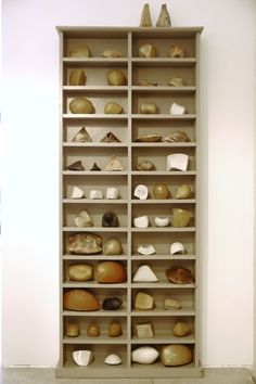 Inspiration Cabinet in Adjacent Studio at Yellow Peril Gallery