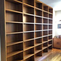 Wood Creations, Walnut Wood, Bookcase, Book Shelves, Wood Crafts, Bookshelves