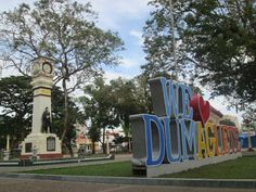 Dumaguete city's park where you can jog and smell the fresh air #awayfrombusystreet #walkwithholdinghands #perfectsightseeing