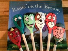 Room on the Broom wooden spoons Search Pipsqueak Bugoo's on Facebook for prices