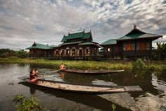 Inle Heritage Stilt Houses Ywama Featuring free WiFi and a restaurant, Inle Heritage Stilt Houses offers accommodation in Inn Paw Khone Village, on the southern end of Inle Lake.  All rooms features a balcony with a seating area where you can relax.