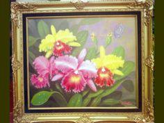 wild cattleya painting