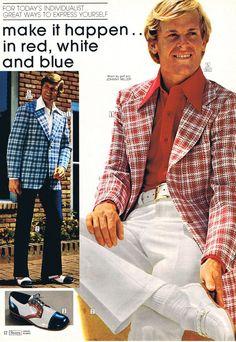 men's fashion 1973 - Google Search