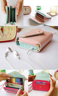 Phone wristlet wallet. A way to carry your phone and wallet with you in one place. $20 each