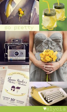 gray green wedding - Google Search