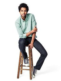 Multipurpose - pair with jeans for casual look or with slacks to dress it up. Modern oxford shirt | Gap