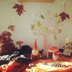 Autumn nature table | Het Kabouterrijk