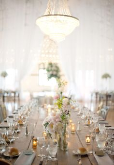 #Tablescape - Simple & Charming | Photography: Emily Steffen | See the wedding here: http://www.stylemepretty.com/2013/11/13/minnesota-wedding-from-emily-steffen-photography