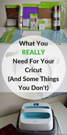 So You Bought A Cricut - What Supplies Do You REALLY Need? And What Can You Live Without - Tastefully Frugal - - Learn about all the supplies, tools and extras Cricut has to offer and what you need for the crafts and projects you want to make. Cricut Ideas, Cricut Tutorials, Cricut Project Ideas, Cricut Vinyl Projects, Cricut Stencils, Cricut Explore Projects, Project List, Cricut Explore Air, Cricut Air 2