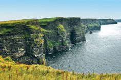 The Cliffs of Moher, Co. Clare. Absolutely amazing when the sun is shining!
