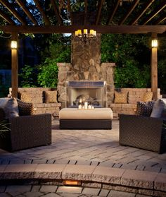 Outdoor decor- Brown and beige