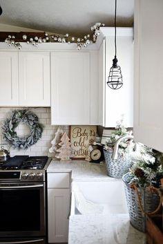 ideas para decorar tu cocina esta navidad