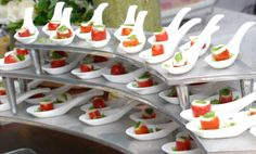 . Finger Foods, Holiday Decor, Camilla, Spoon, Pink, Spices, Dishes, Chef Kitchen, Party