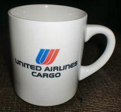 United Airlines Coffee Mug