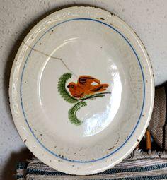 plato ceramica- manises valencia