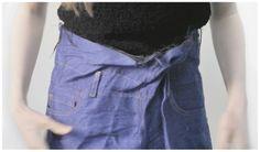 Faustine Steinmetz AW14 Collection http://faustinesteinmetz.com #Handwoven #Denim #Jeans #Fashion #Style #LondonFashion #Designer #FaustineSteinmetz