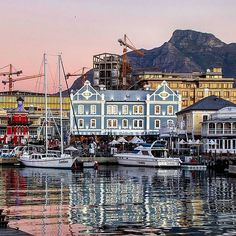 """""""V and A Waterfront"""" featuring _______________________________ If you'd like to see your images being featured here just use - We really enjoy sharing your shots of all the different aspects of the Mother City and the rest of the Western Cape. V&a Waterfront, Heart Place, Cape Town South Africa, Westerns, Adventure, Mansions, House Styles, City, Places"""
