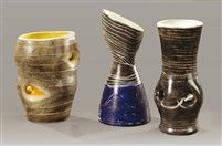 Suite de trois vases (set of 3) by Mado Jolain