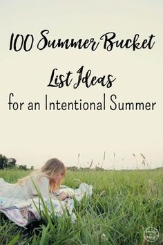 Summer Bucket List: 100 fun ideas to help you brainstorm ways to make memories this Summer, making this a memory-making summer your family will never forget. via @wdcornelison