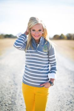 Baylor gray and white striped quarter zip knit jacket