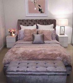 Cute Bedroom Ideas, Cute Room Decor, Teen Room Decor, Room Ideas Bedroom, Teen Bedroom, Bedroom Themes, Bedroom Furniture, Luxury Furniture, Master Bedroom