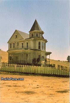"""Victorian home from """"Little House on the Prairie."""""""