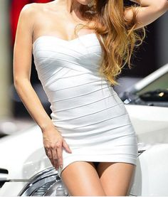 Hot Strapless Sexy Show Body Dress Tight Dresses, Prom Dresses, Teen Fashion, Womens Fashion, Everyday Dresses, Dressed To Kill, Girls Night Out, Dress Me Up, Party Dress
